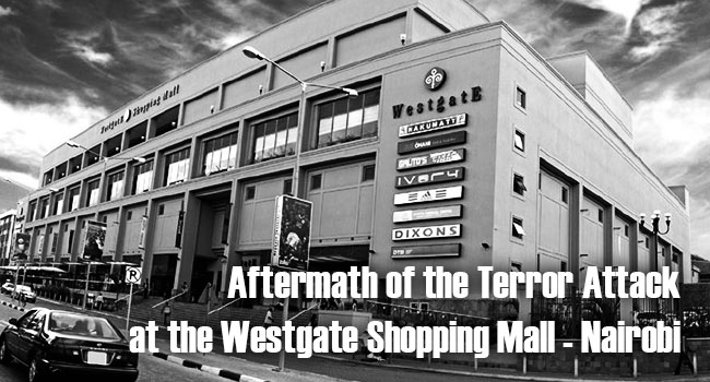 Aftermath of the Terror Attack at Westgate Shopping Mall - Nairobi