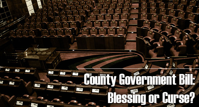 County Government Amendment Bill: A Blessing or Curse?