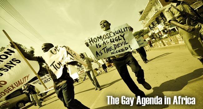 The Gay Agenda in Africa