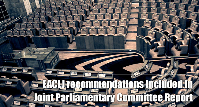 Joint Parliamentary Committee Report