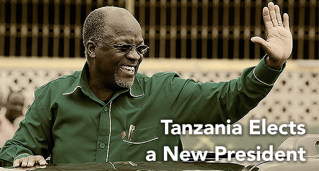Tanzania Elects A New President