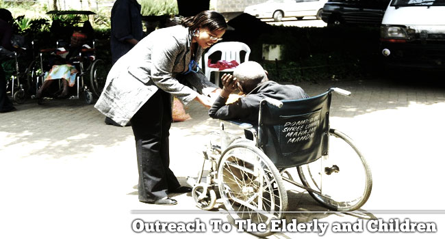 Outreach to the Elderly and Children