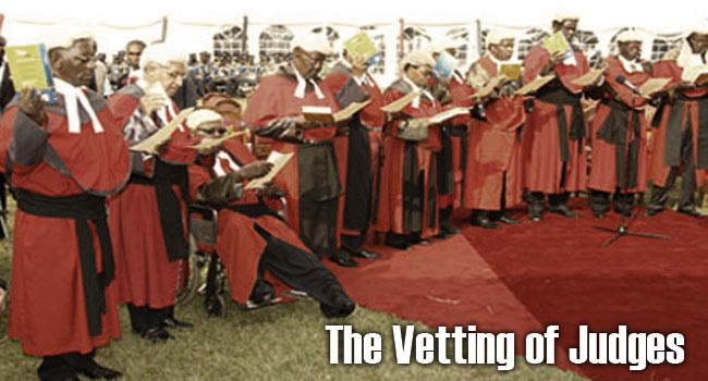 The Vetting of Judges