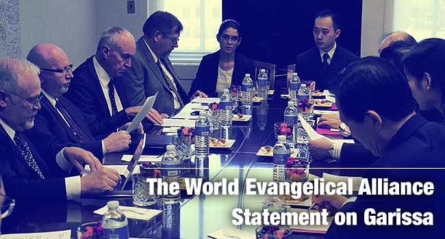 The World Evangelical Alliance Statement on Garissa
