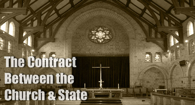 The Contract Between the Church and State