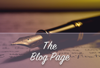 the blog page
