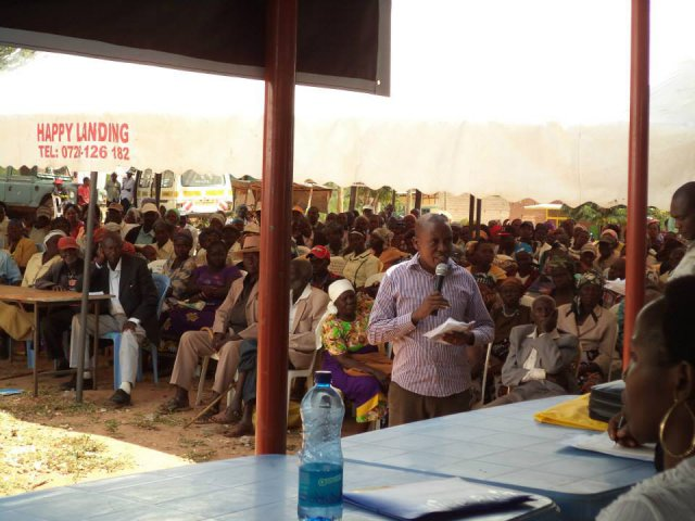 Legal Aid Forum in Ngaaie - Mwingi North Constituency